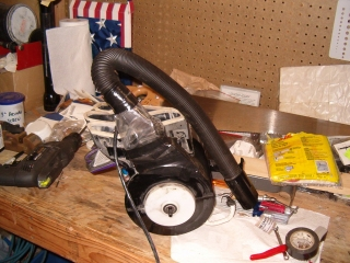 Finished blower assembly